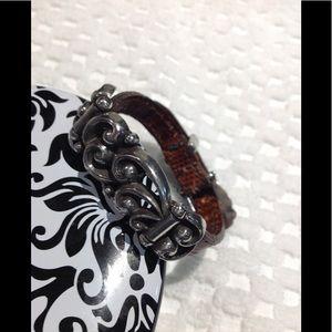Vintage Brighton bracelet leather ❤️